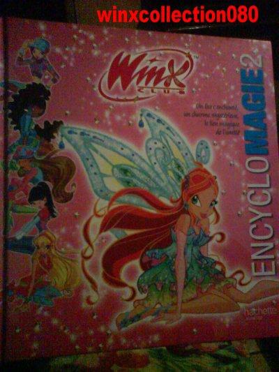 livre encyclomagie 2 winx