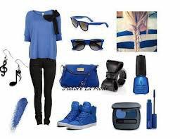 Tenue spécial bleu :)