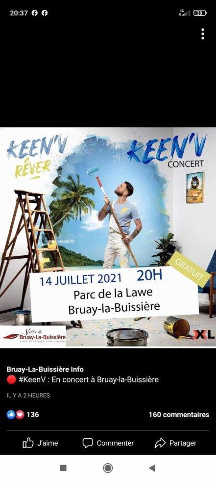 Keen'v - Le 14 juillet 2021