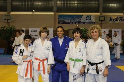 Entrainement avec Lucie Decosse - Samedi 21 janvier 2012 - 14