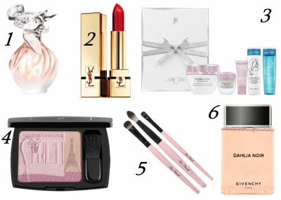 Idées de cadeaux (cosmétiques) pour Noël !!