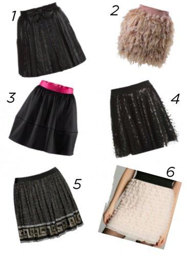 Des jupes pour le nouvel an !