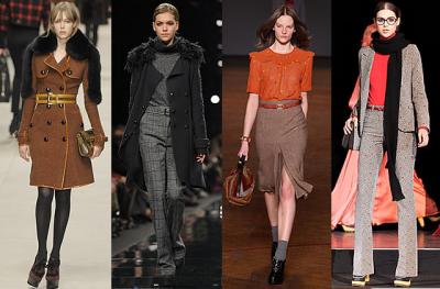 Les tendances de la mode Automne/Hiver 2011-2012