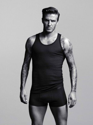 David Beckam nu pour H&M !