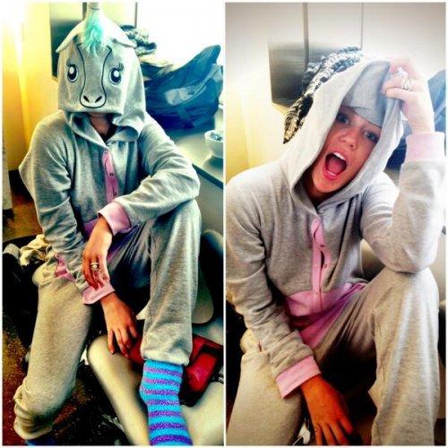 Miley Cyrus twerke déguisée en licorne (Vidéo)