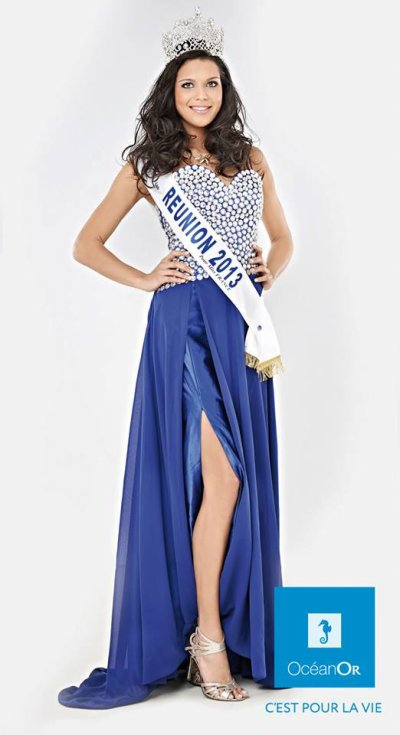 ~ PHOTO OFFICIELLE VANILLE POUR MISS FRANCE !! ~