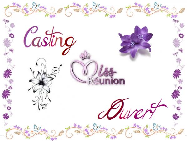 ~ Casting Miss Réunion 2014 ouvert ! ~