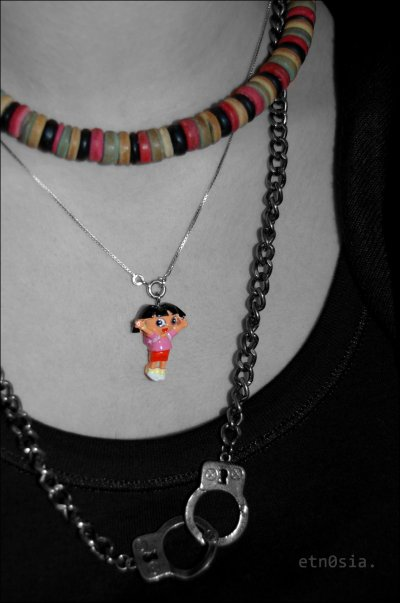 Photo collier menottes.