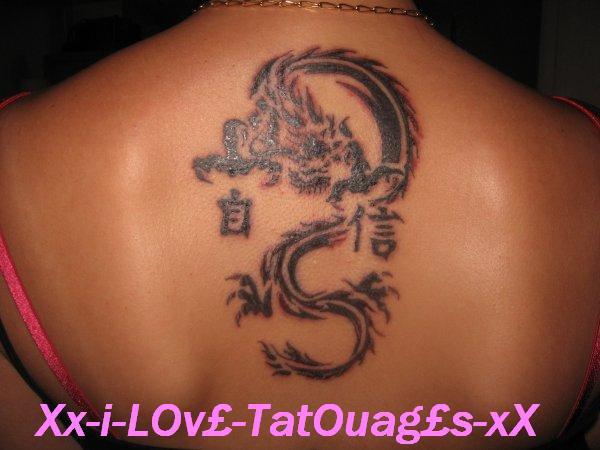« TatOuag£s au dOs -> DragOn !! »