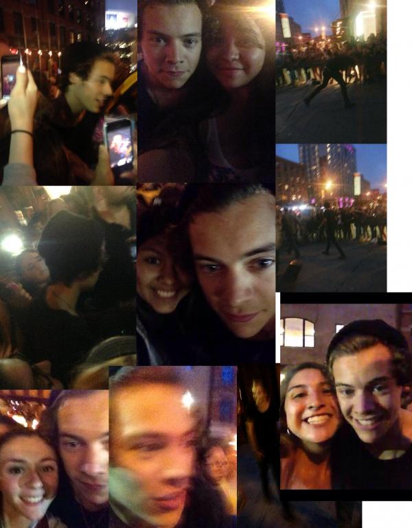 Le 1/07 Harry NY et Liam Londres