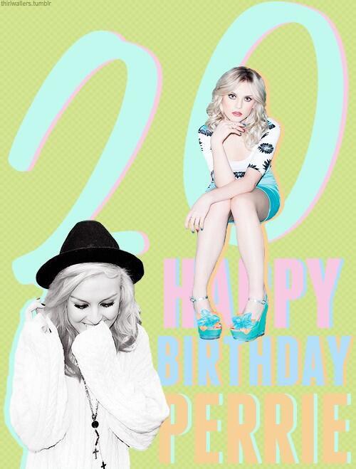 Happy Birthday Perrie ♥