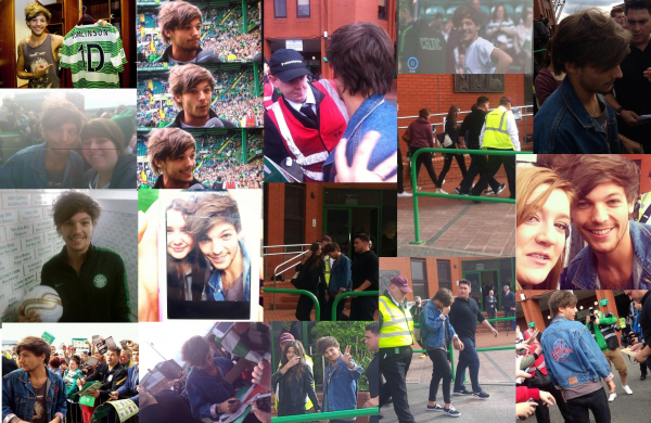 Le 8/09 Glasgow Match Louis