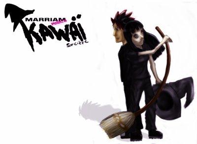 kawaï sorcière
