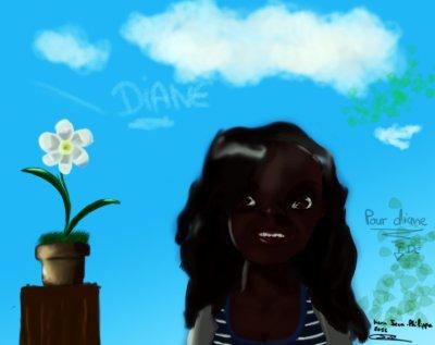 dessin de dianne