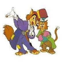 Grand coquin le renard et g d on le chat le monde de disney - Chat dans pinocchio ...
