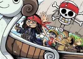 pirates des caraibes vs one piece!!