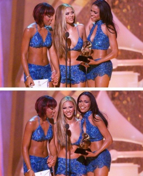 Quand les Destiny s child gagne leur prix le plus prestigieux du monde de la musique