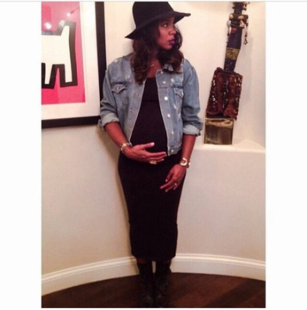 Kelly rowland veut rester féminine même enceinte!