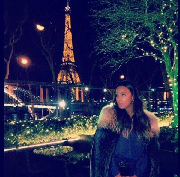 Kelly Rowland a Paris