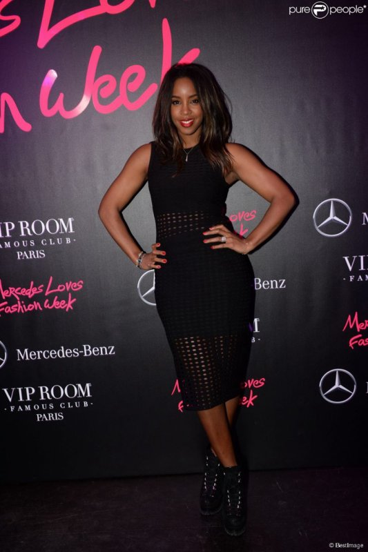 Kelly Rowland au VIP room a paris
