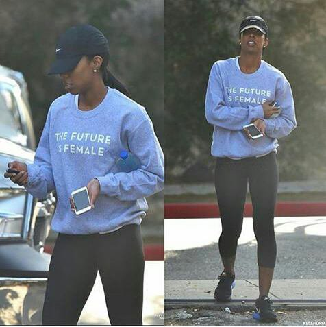Kelly Rowland une féministe