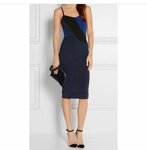 #kelly rowland hollywood en Victoria Beckham dress