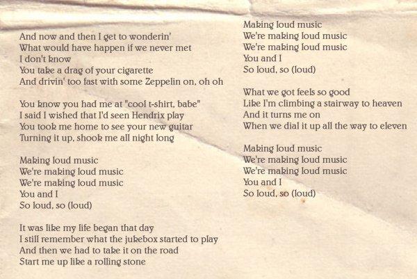 Loud Music