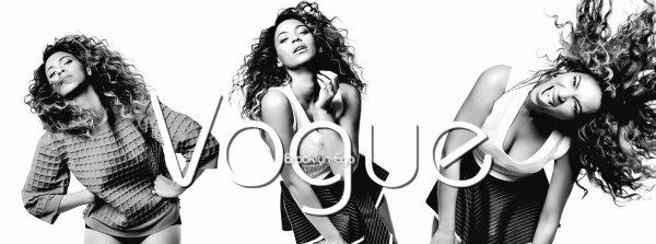 @Queen B # Vogue (UK) Photoshoot 2013 ♥