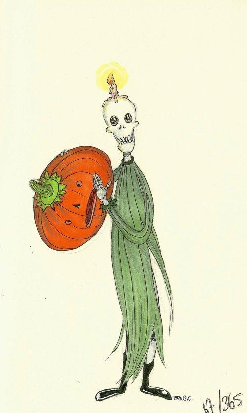 Le Paysan défunt va faire de l'Halloween