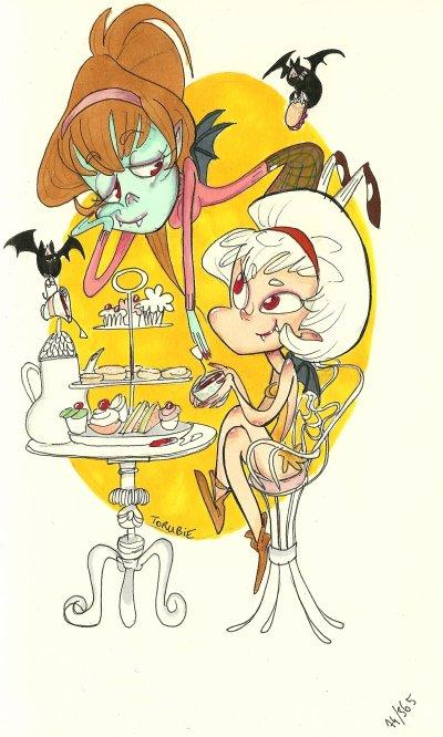 Vampire Tea Party