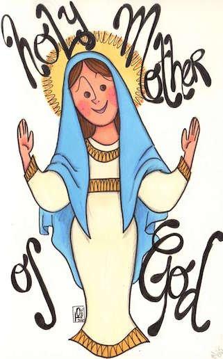 La Vierge Marie // Mi-carême