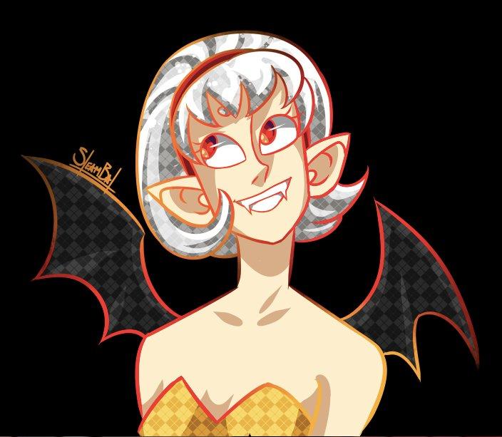 Petite Vampire fanart de Steambat