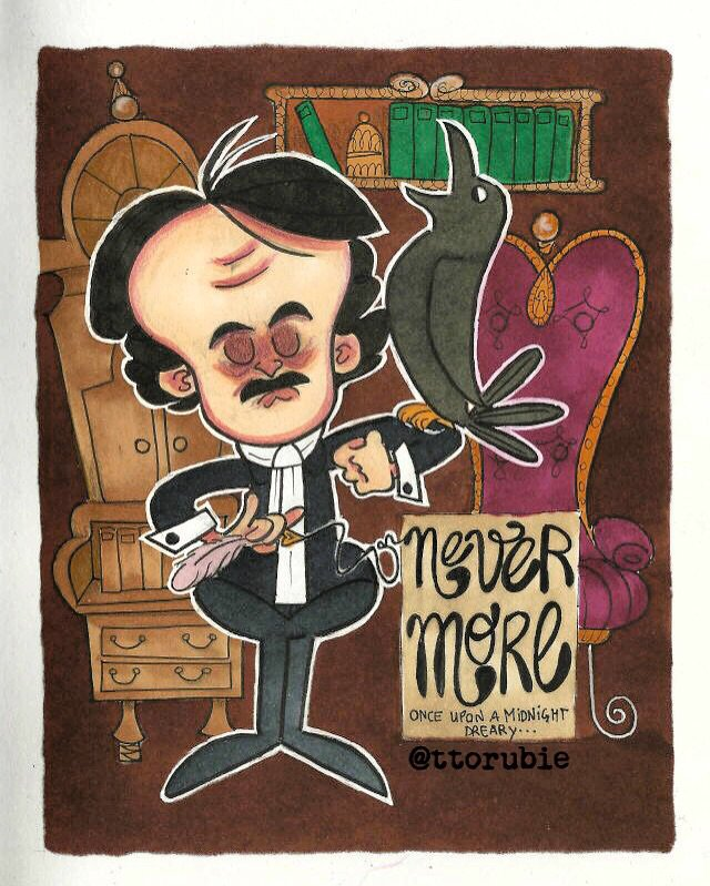Edgar Allan Poe & The Raven