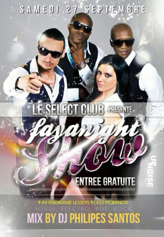 Fayanight au select club