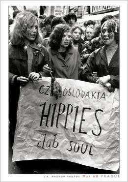 Premier Mai 1968, Prage, Tchecoslolaquie...