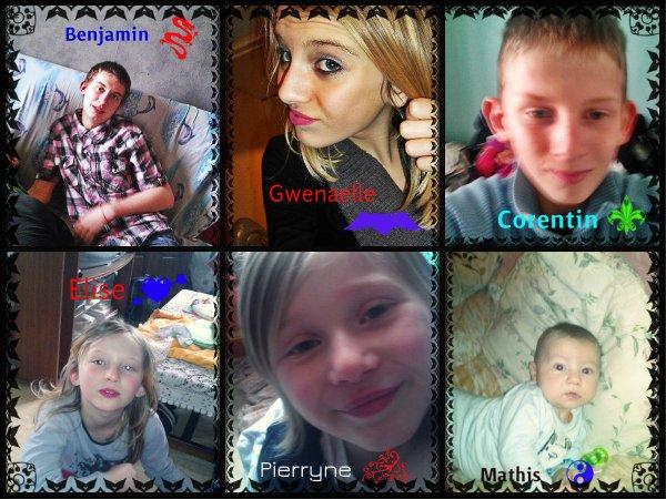 Mes enfants (l)