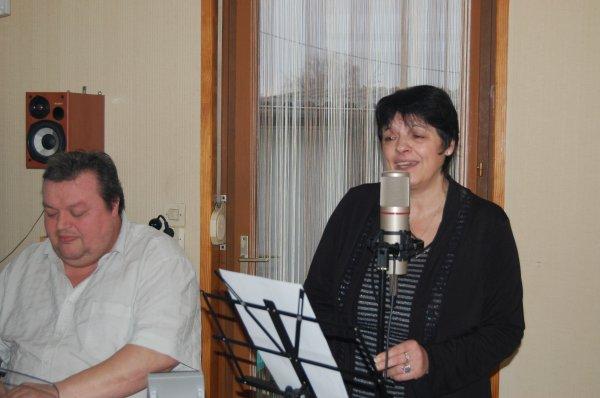 Enregistrement en Direct. / Les Vieux Amants/ Marie-Pierre APRILE & MoMo (2012)