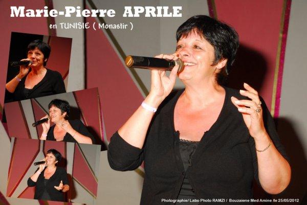 Marie-Pierre APRILE en Tunisie ( Monastir )