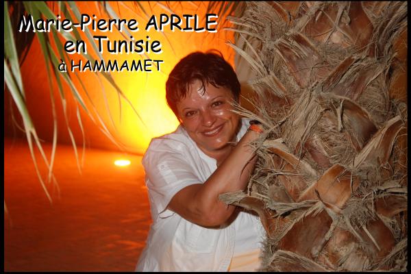 Marie-Pierre en Tunisie !