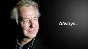 Snape Time #1 : Hommage à Alan Rickman
