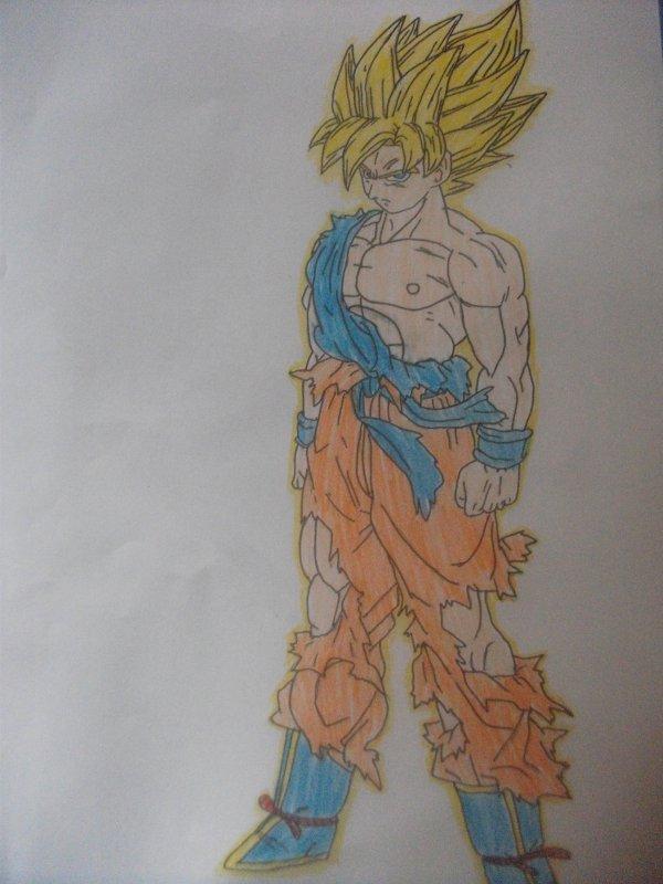 Déssin: Goku