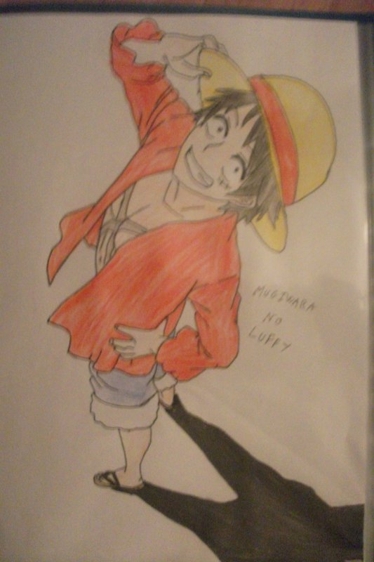 Déssin Mugiwara No Luffy