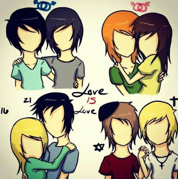 L'amour n'a pas de limites, nous sommes tous humains.