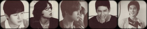 Xiah Junsu + Micky Yoochun + Hero Jaejoong + Max Changmin + U-Know Yunho