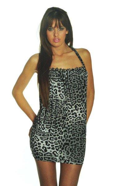 Robe/tunique léopard