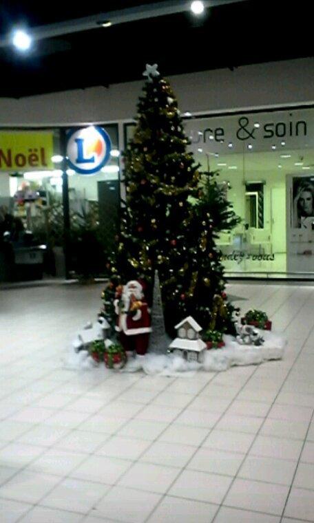Le sapin  de  Noël à yvetot