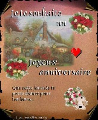 Joyeux Anniversaire Ma Puce Ma Petite Soeur De Coeur Qui A Quitee