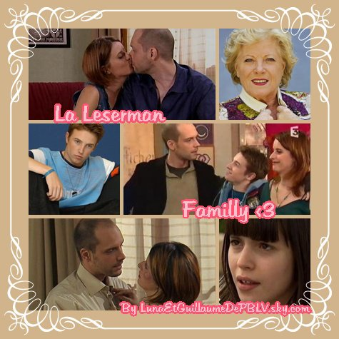 LA LESERMAN FAMILLY <3
