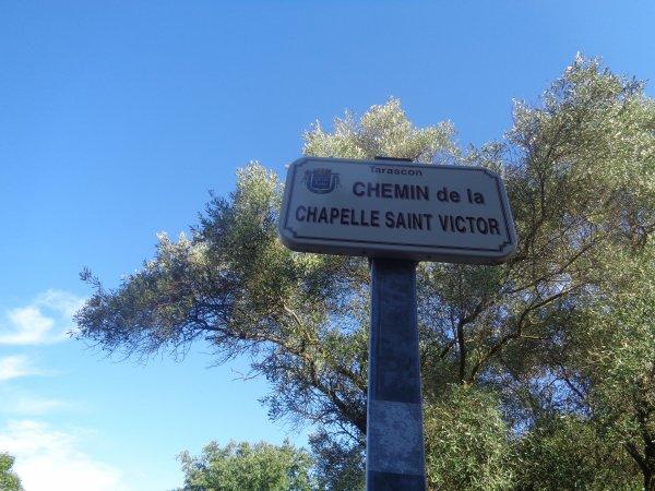 LE CHEMIN DE LA CHAPELLE SAINT-VICTOR.