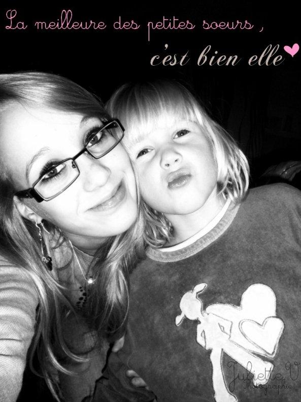 « Mon amour de petite soeur ♥ »